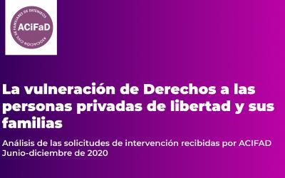 Informe 2do Semestre 2020 ACIFAD